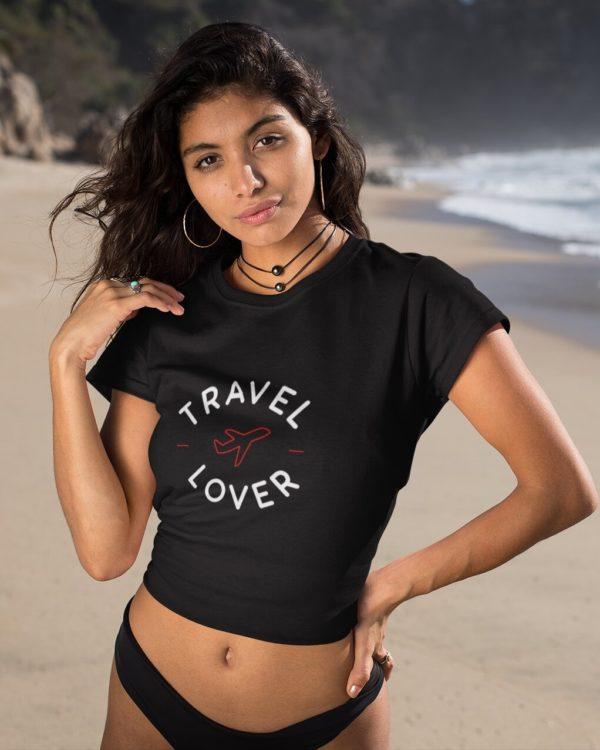 Crop-Top Travel Lover