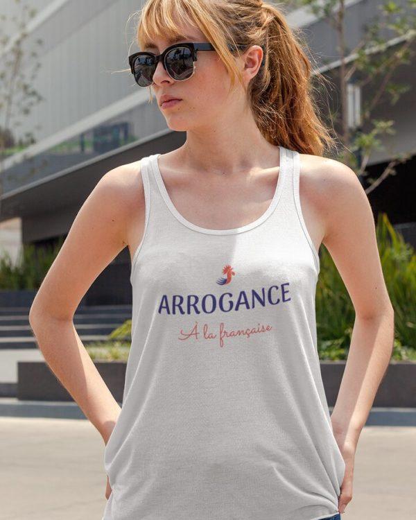 Débardeur Arrogance à la française