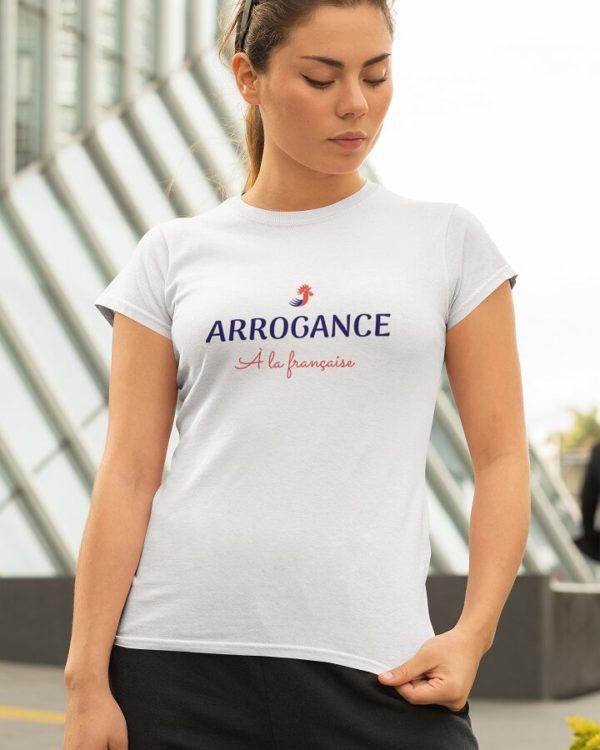 T-shirt Arrogance à la française
