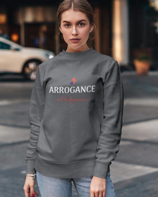 Sweatshirt Arrogance à la française