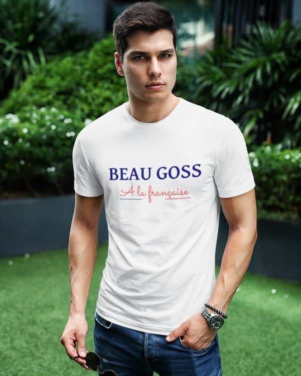 T-shirt Beau Goss À la française
