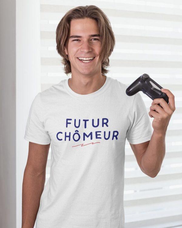 T-shirt Futur chômeur