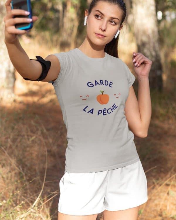 T-shirt Garde la pêche