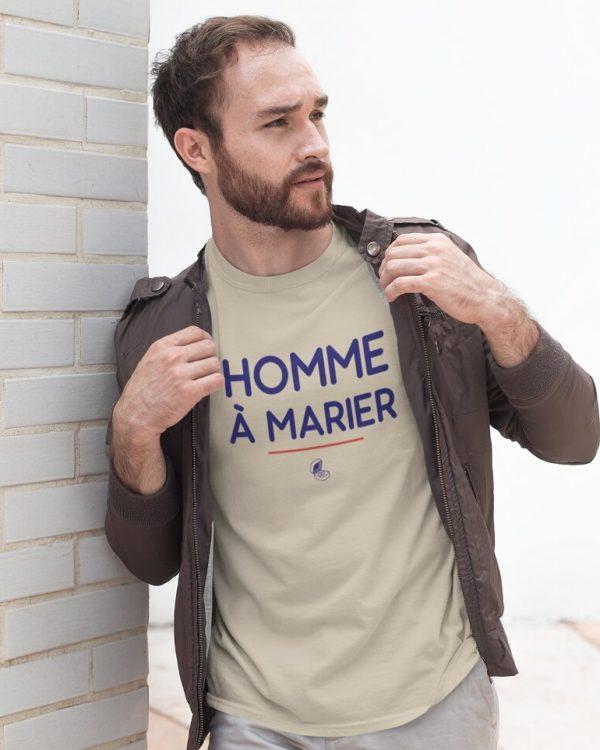 T-shirt Homme à marier