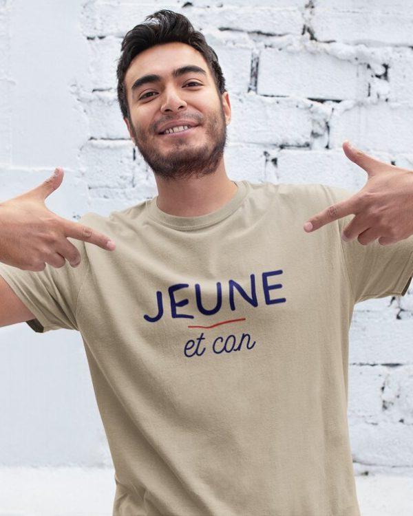 T-shirt Jeune et con