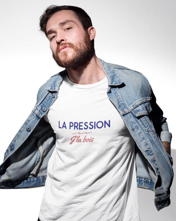 T-shirt La pression J'la bois