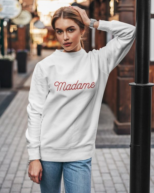 Sweatshirt Madame