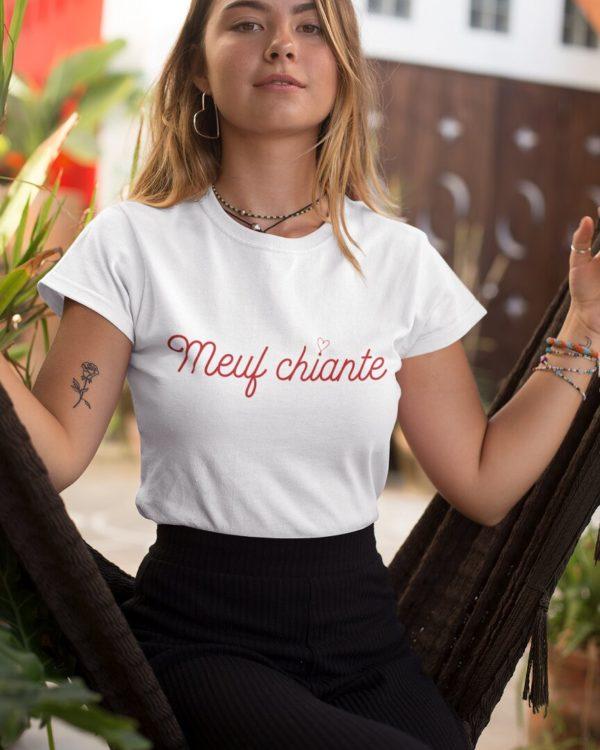 T-shirt Meuf chiante