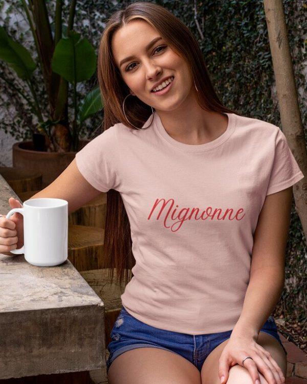 T-shirt Mignonne