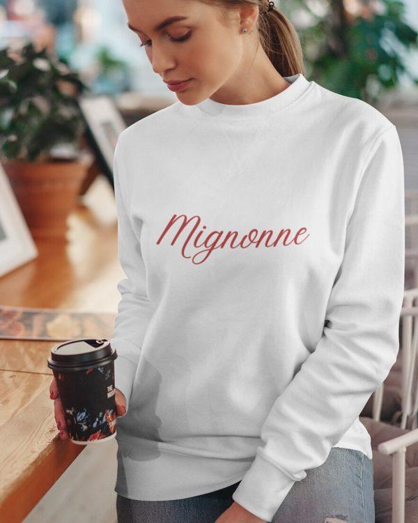 Sweatshirt Mignonne