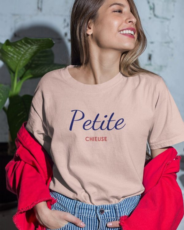 T-shirt Petite chieuse