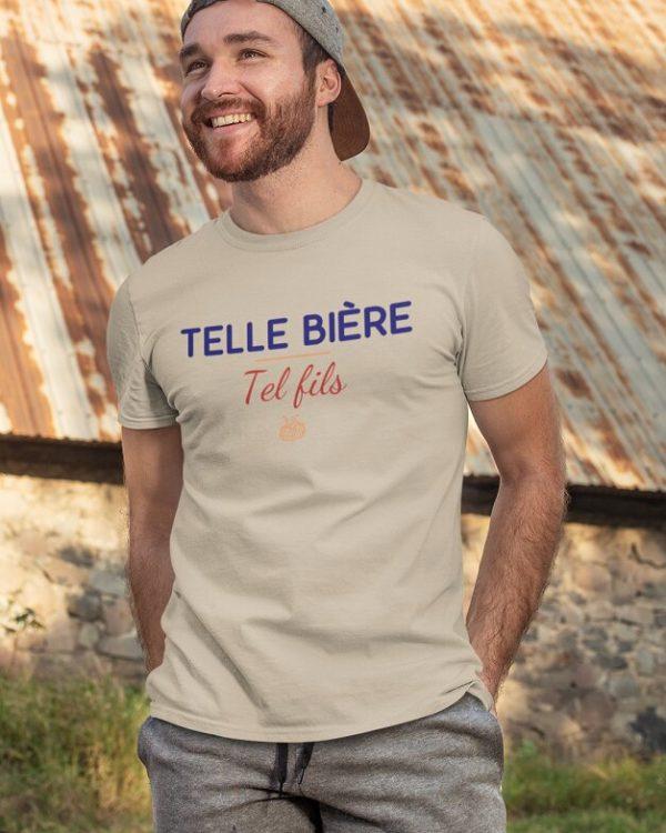 T-shirt Telle bière Tel fils
