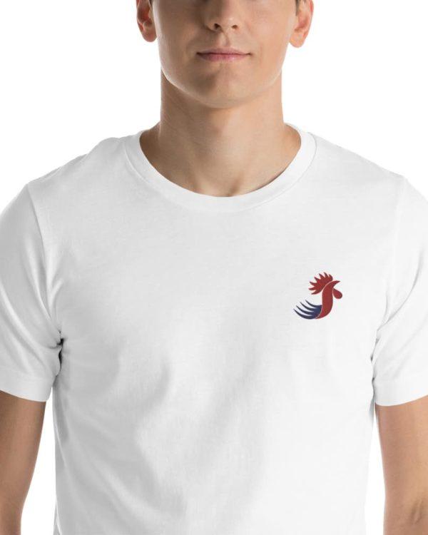 T-shirt Coq français (brodé)