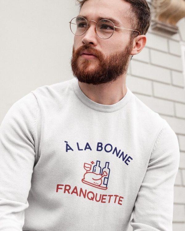 Sweatshirt À la bonne franquette