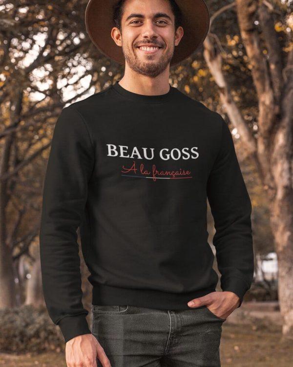 Sweatshirt Beau goss à la française