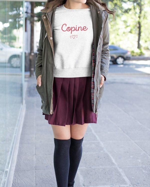 Sweatshirt Copine