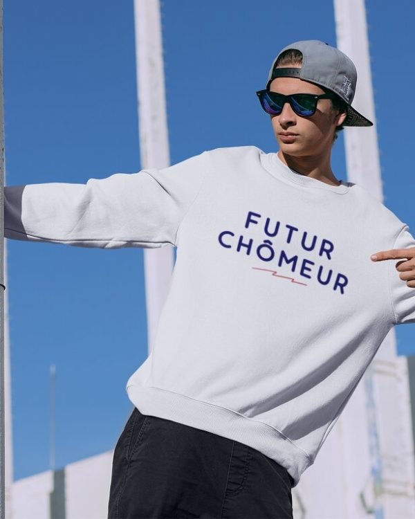 Sweatshirt Futur chômeur