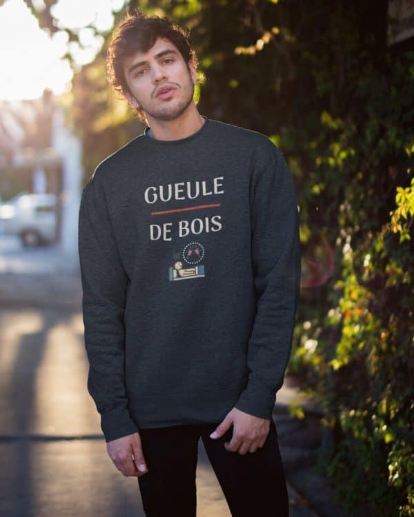 Sweatshirt Gueule de bois