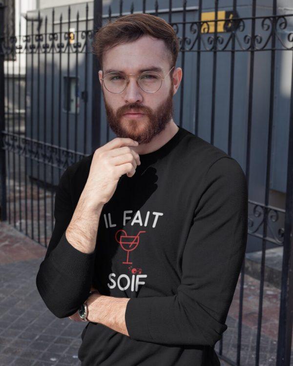Sweatshirt Il fait soif
