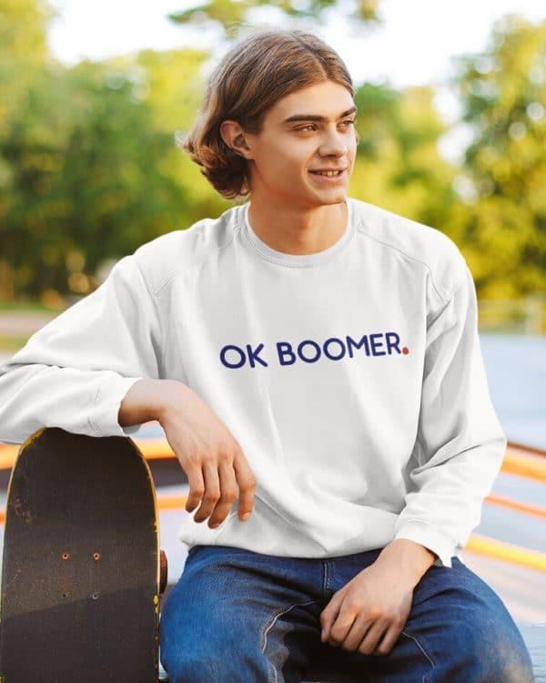 Sweatshirt OK Boomer