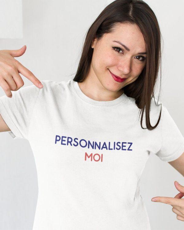 T-shirt femme personnalisable